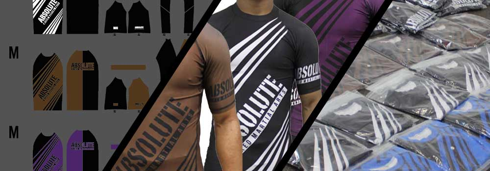 MA1 Australia Custom Rash Guard Process