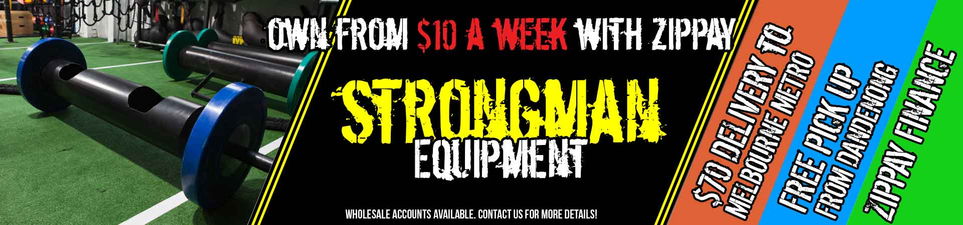 MA1 Strongman Equipment Australia
