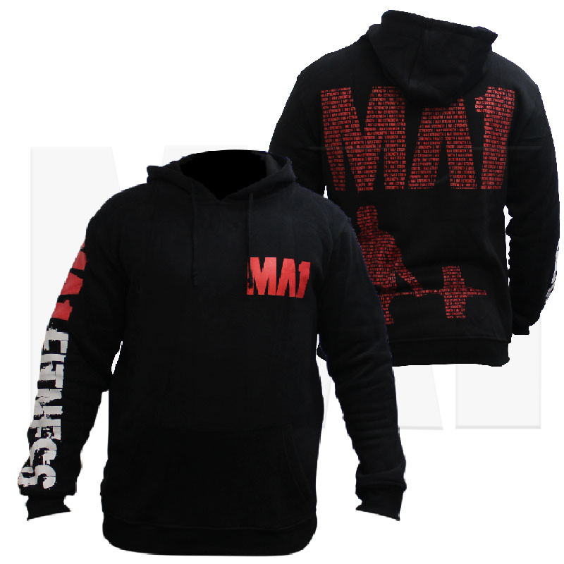 MA1 Fitness Weightlifting Hoodie