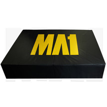 MA1 Landing Crash Mat - 2.4m*1.5m*45cm, Black