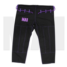 MA1 Premium Comp Kimono Pants - Black, Purple & White