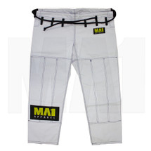 MA1 Ultra Light Kimono Pants  -  White (Contrast Stitching)