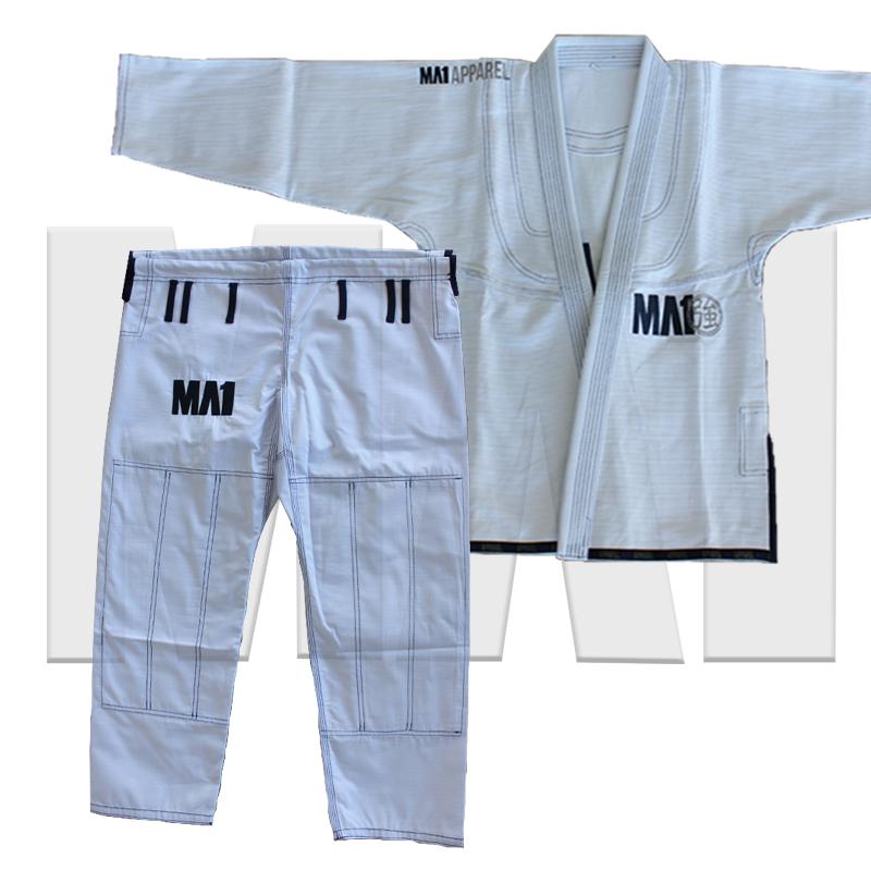 MA1 Premium Comp Gi - White and Navy
