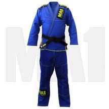 MA1 Ultra Light Kimono - Blue (contrast stitching) - Main
