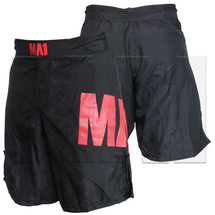 MA1 Club Red & Black MMA Shorts