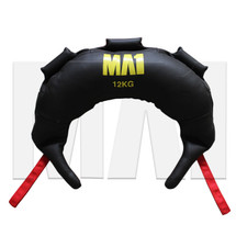 MA1 Leather Bulgarian Bag - 12kg, Red Straps