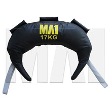 MA1 Wrestlers Bag - 17kg, Grey Strap