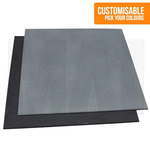 Premium 15mm Rubber Flooring & Custom Colours