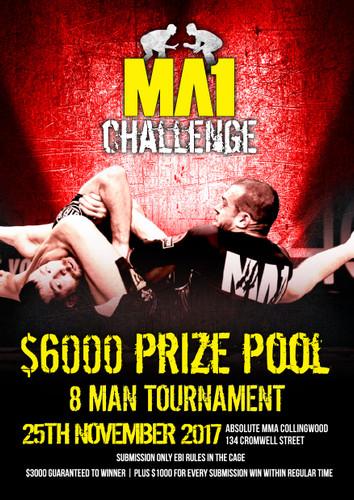 MA1 Challenge Spectator Ticket