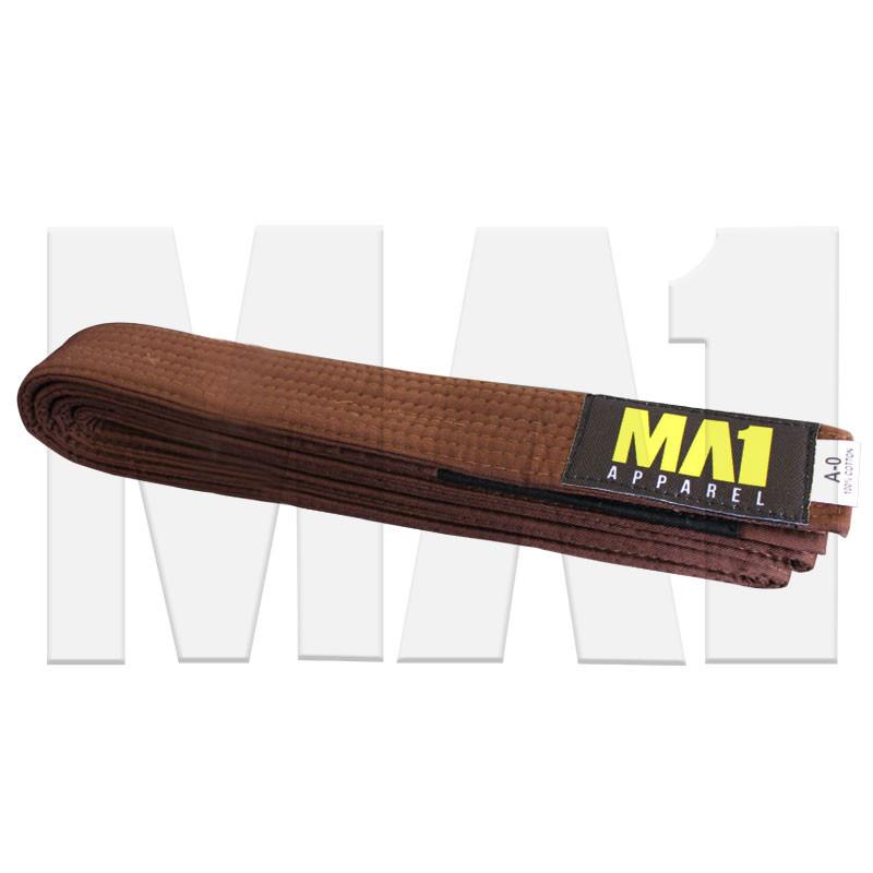 MA1 Brown BJJ Belt