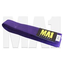 MA1 BJJ Kimono Belt - Purple