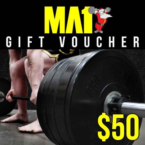 MA1 $50 Bonus Christmas Voucher