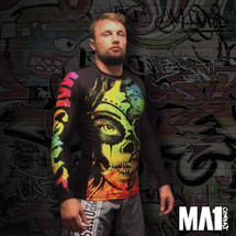 MA1 Sponsored Athlete Craig Jones - Barefoot Yogi Long Sleeve Rashguard