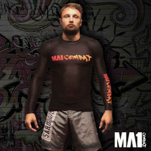 MA1 Sponsored Athlete Craig Jones - Combat Long Sleeve Rash Guard - FRONT