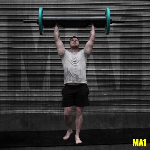MA1 Strongman Log + Bumper Set