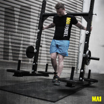 MA1 Yoke Squat Rack (Demo) & Cast Iron Plates Package