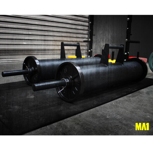 MA1 Farmers Walk with Cast Iron Weight Plates Packs