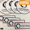 Custom Embroidered Patches for BJJ Gi | Universal Combat Academy