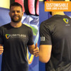 Troy Skidmore Limitless MMA   MA1 Custom Cotton Feel Tee