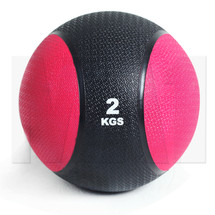 2kg Rubber Medicine Ball - Red