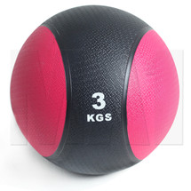 3kg Rubber Medicine Ball - Red