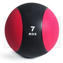 7kg Rubber Medicine Ball - Pink