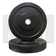 20kg Black Rubber Bumper Plate