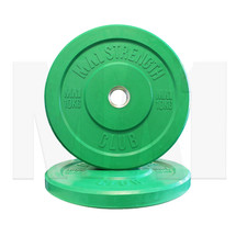 10kg Coloured Rubber Bumper Plate