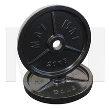 MA1 Olympic Cast Iron Plate (Pair) - 20kg
