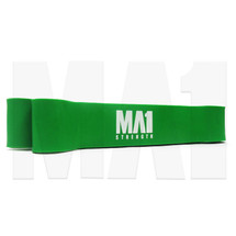Resistance Strength Bands - M, Green, Angle