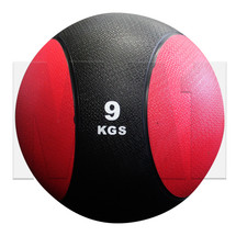 9kg Rubber Medicine Ball - Red