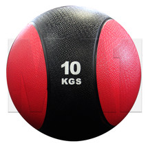 10kg Rubber Medicine Ball - Red