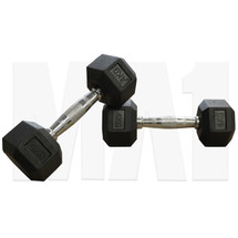 4kg Rubber Hex Dumbbell (Pair)