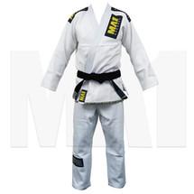 MA1 Gold Weave Pro BJJ Kimono - White