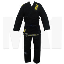 MA1 Gold Weave BJJ Pro Kimono - Black
