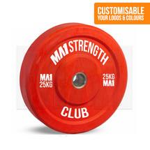 Custom Club Coloured Rubber Bumper Plate