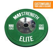 Custom Elite Coloured Rubber Bumper Plate