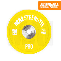 Custom Pro Coloured Rubber Bumper Plate