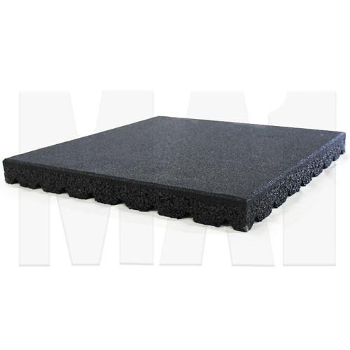 MA1 Rubber Tile 50mm x 50cm x 50cm - Black