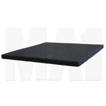 MA1 25mm Rubber Flooring - 50cm x 50cm, Black