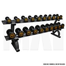 MA1 Elite Dumbbell Rack - 2 Tier 10 pairs saddle rack_Demo
