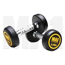 MA1 Commercial Rubber Dumbbells - 2.5kg