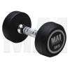 MA1 Commercial Rubber Dumbbells - 5kg - Grey