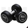 MA1 Commercial Rubber Dumbbells - 7.5kg - Grey