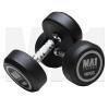 MA1 Commercial Rubber Dumbbells - 10kg [Grey]