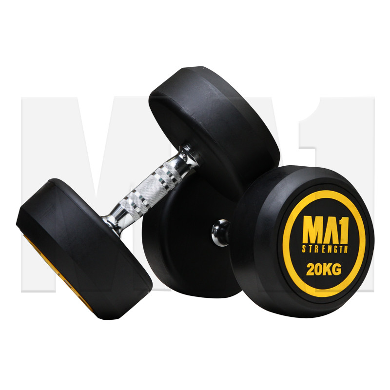 MA1 Round Head Dumbbells - 22.5kg