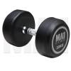 MA1 Commercial Rubber Dumbbells - 20kg [Grey]