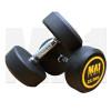 MA1 Commercial Rubber Dumbbells - 22.5kg
