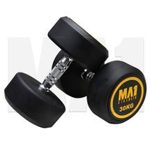MA1 Commercial Rubber Dumbbells - 30kg