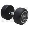 MA1 Commercial Rubber Dumbbells - 30kg [Grey]
